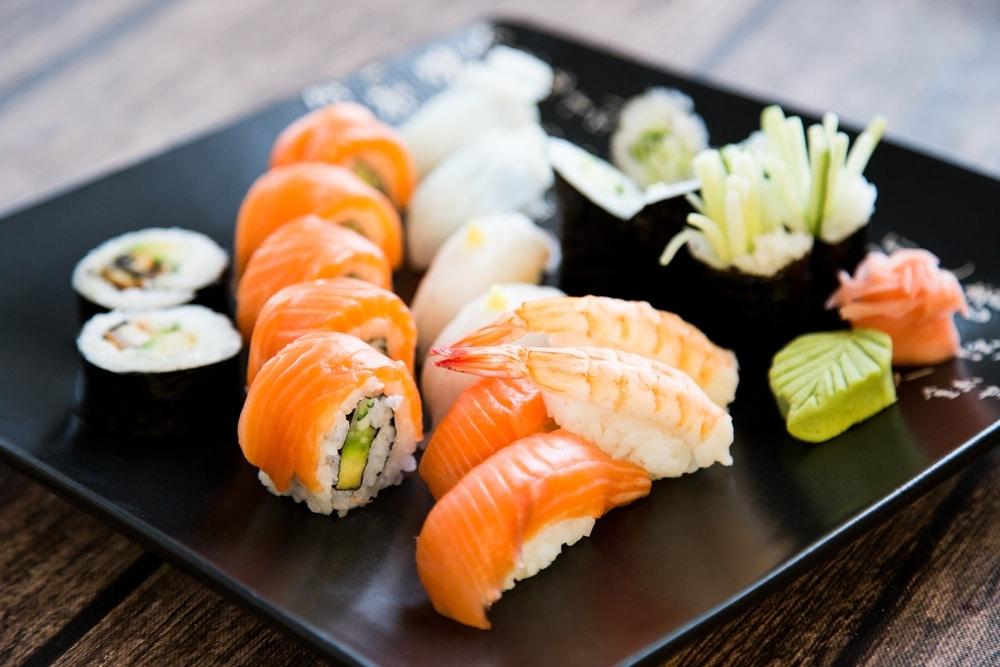 afvallen met sushi